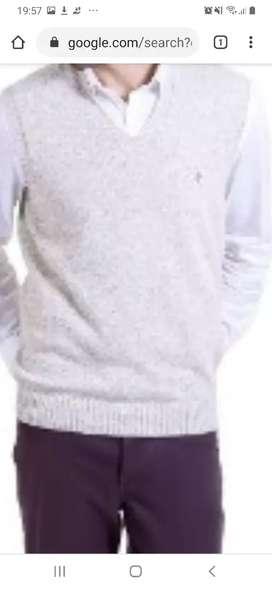 URGENTEChaleco de lana hombre nuevo color beige