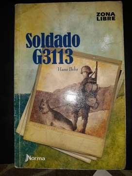 Libro Soldado G3113