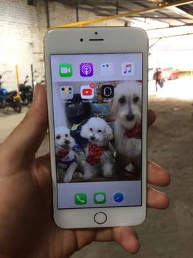 Ganga iphone 6 plus de 16gb funcionando bien