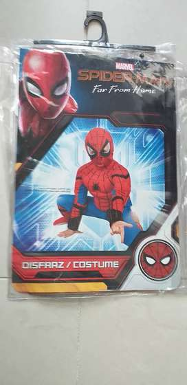 Disfras del hombre araña talla 10