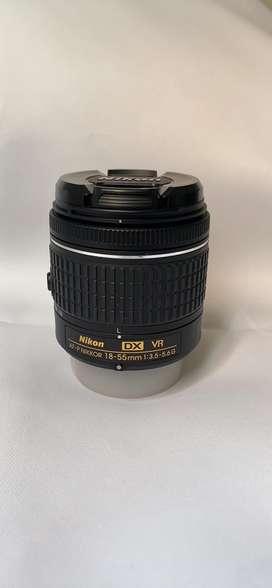 Lente Nikon AF-P DX NIKKOR 18-55mm