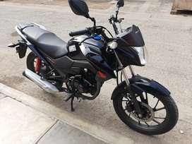 Vendo moto honda cb 125 moto casi nueva