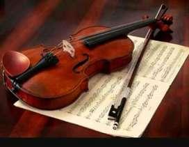 Clases de Violin virtual y lenguaje musical