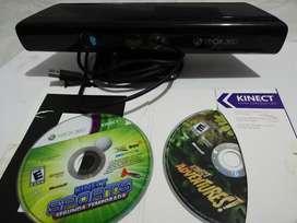 Kinect Xbox 360 con juegos Originales