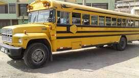 VENDO BUS SCHOOL FORD 1983 - OPERATIVO Y EN REGLA