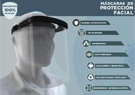 Máscaras de protección facial