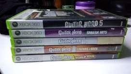 Todos los guitar hero para xbox 360