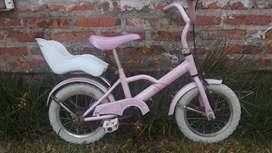 Urgente Vendo Bicicleta usada Rod 16