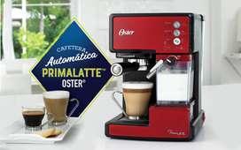 Oportunidad Se vende Cafetera automática para espresso, latte y cappuccino PrimaLatte roja excelente estado