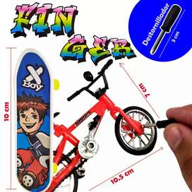 Bicicleta Patineta Juguete Escala Colección Juguetería Infantil