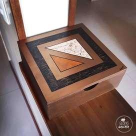 Caja servilletero o caja todo uso