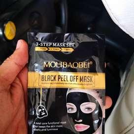 Mascarilla Negra para Limpiar Rostro Y M