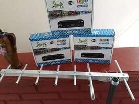 Antenas tipo yagui para tv digital abierta DBVT2