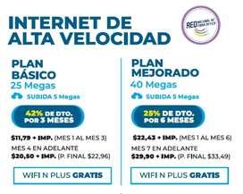 Internet por fibra