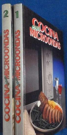 Cocina Con Microondas Recetas.Colección 2 Tomos Ed. Planeta