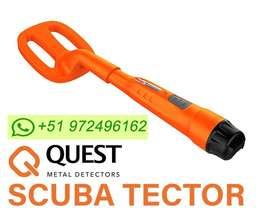 Detector de Metales Scuba Tector Acuatico Sumergible Hasta 60 metros !!!
