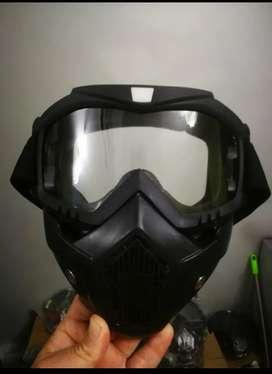Protector facial googles