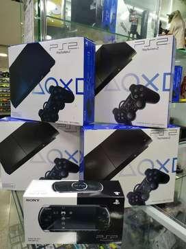 Playstation 2 completos con garantía pocas unidades