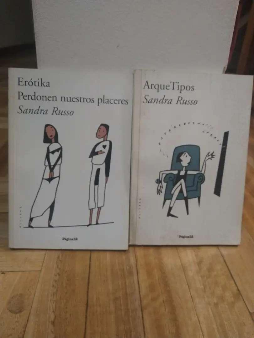 Arque tipo y erotika de Sandra Russo ambos x $180 0