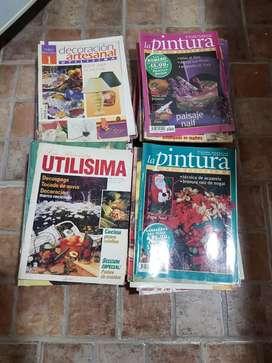 Combo 80 revistas de artesanías varias