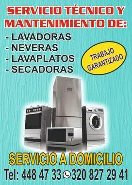 Servicio técnico de lavadora nevera