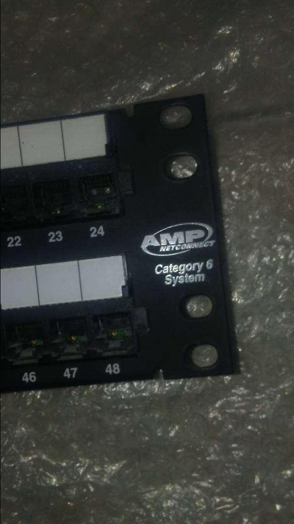 Patchpanel AMP CAT 6 0