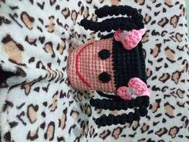 Bolsos tejidos a crochet de trapillo