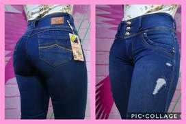 Jeans levantacola