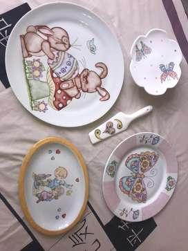 Vendo lote de porcelana/ceramica