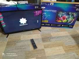televisor nuevo smart de 32 con android youtube netflix