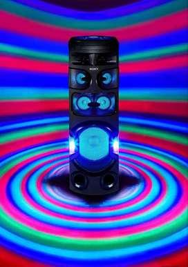 Sistema de audio SONY de alta potencia con tecnologia bluetooth - V82D