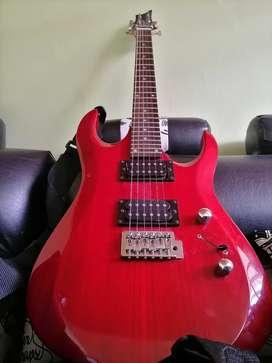 Vendo o cambio guitarra eléctrica vorzon + amplificador marshall