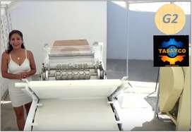 MAQUINA GALLETAS DE AGUA. 100 KG/HORA SOLO 2 OPERARIOS. GARANTIA