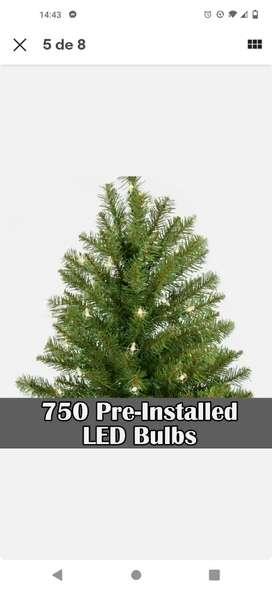 Árbol de navidad hermoso de 2.25 cm