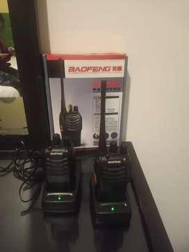 Par de radios comunicadores
