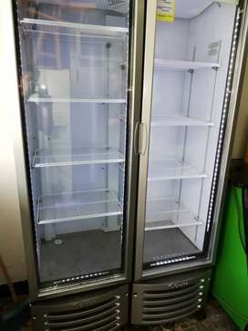 Nevera Refrigeradora Vertical Doble