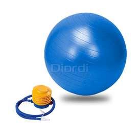 Pelota Pilates Terapeuticas 85cm con Inflador Azul
