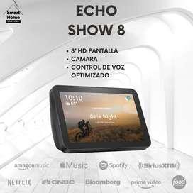 Promoción de echo show 8