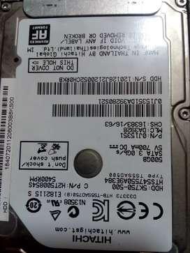 Vendo disco duro de 500gb de portátil barato