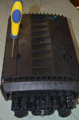 Caja De Distribucion Optica Aérea/canalizada Ip68, 16 Puetos