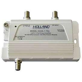 Amplificador De Señal de TV Digital Hcda-1 Holland P/ Tv Digital Hd 1 Ghz