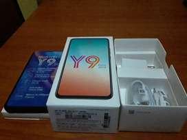 Vendo celular totalmente nuevo en caja marca huawei y9 prime con todos sus accesorios
