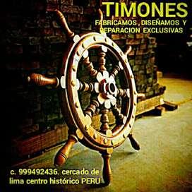 TIMONES PARA BARCOS Y YATES VENDO , REPARO