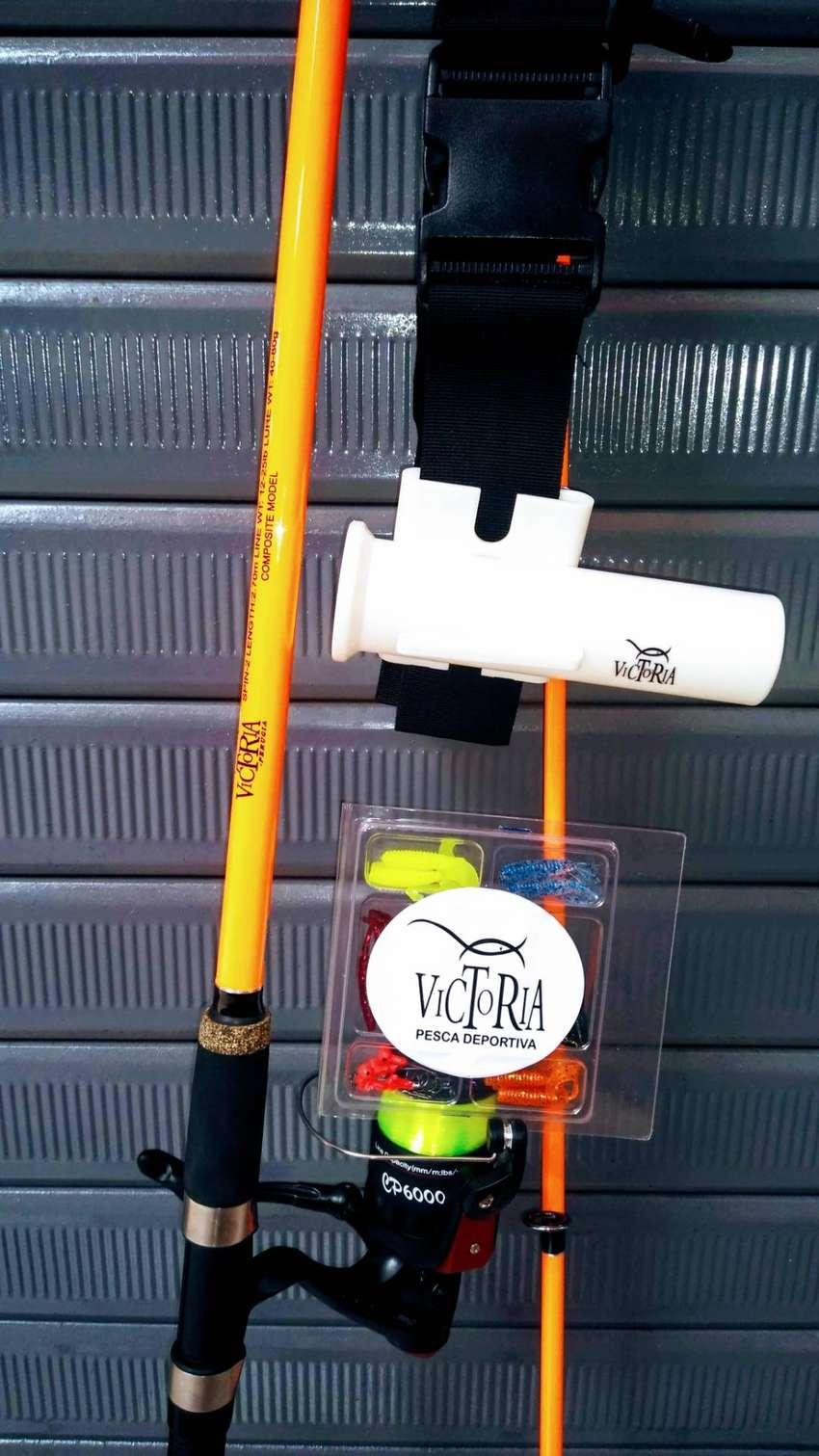 Caña de pescar Victoria 2.70m kit completo OFERTA!! 0