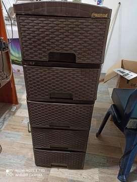 mueble coldplast de 5 cajones