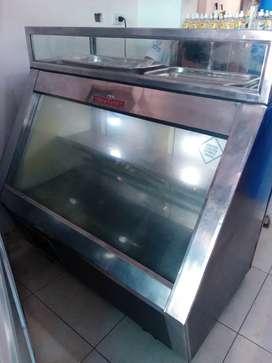 Vitrina Congelador y Refrigerador Marca Westell