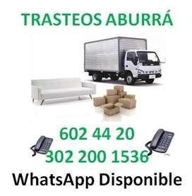 Mudanzas Tel: 602 4420 Trasteos y acarreos en Antioquia.