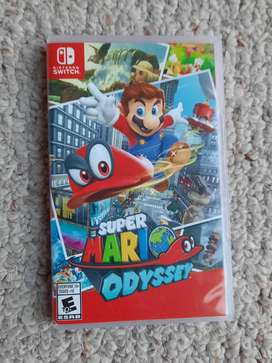 Super Mario Odyssey Standard Edition Nintendo Switch Físico