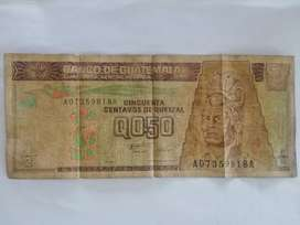 Vendo Billete de 50 Centavos