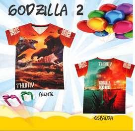 Camiseta Godzilla Vs Kong